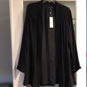 Eileen Fisher lined cardigan M